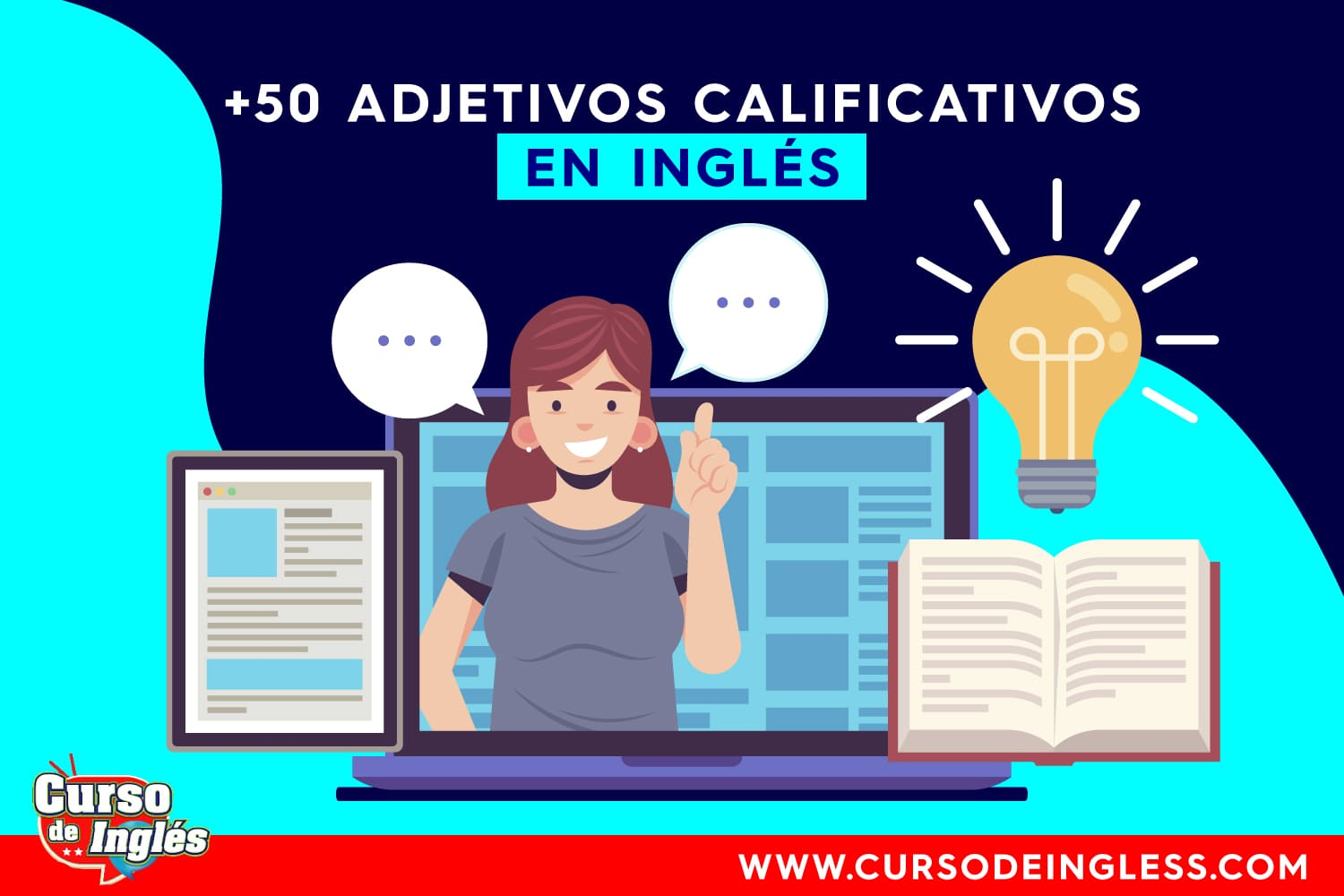 Adjetivos Calificativos Ingles